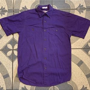 Vintage Chase Authentic Short Sleeve Button Down S
